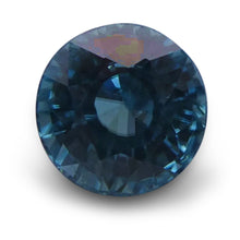Blue Zircon 2.85 cts 7.05 - 7.03x5.56mm Round Blue  $240