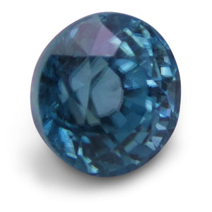 2.85 ct Round Blue Zircon