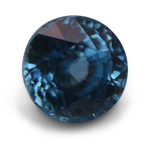 3.21 ct Round Blue Zircon