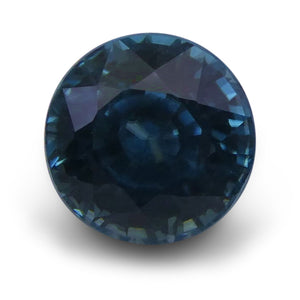 Blue Zircon 3.03 cts 7.11 - 7.11x5.80mm Round Blue  $260