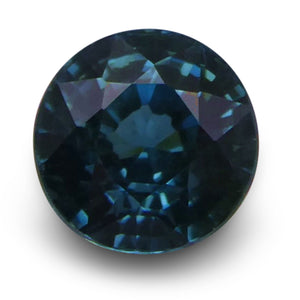 Blue Zircon 2.42 cts 6.86 - 6.86x5.03mm Round Blue  $210