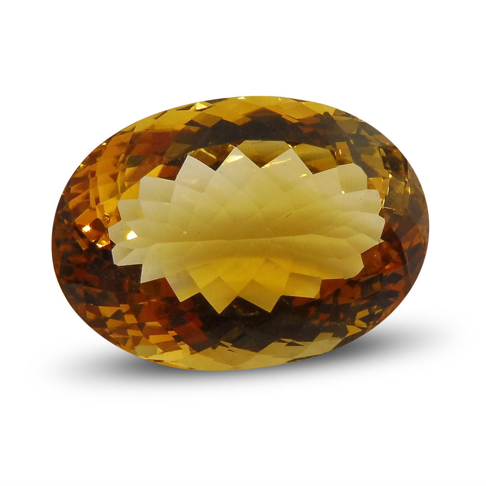 14.94 ct Oval Citrine