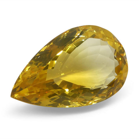 12 ct Pear Citrine