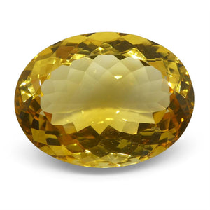 15.07 ct Oval Citrine
