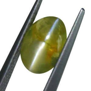 1.98 ct Oval Chrysoberyl Cat's Eye