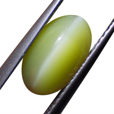 1.34 ct Oval Chrysoberyl Cat's Eye