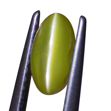 1.1 ct Oval Chrysoberyl Cat's Eye