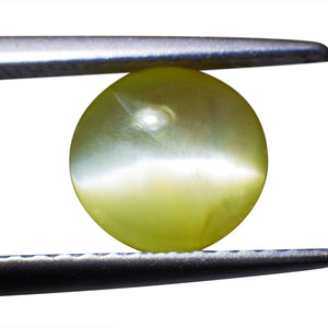 1.02 ct Round Chrysoberyl Cat's Eye