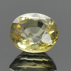 0.96ct Oval Yellow Chrysoberyl - Skyjems Wholesale Gemstones