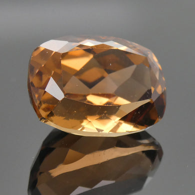 9.81ct Cushion Champagne Topaz - Skyjems Wholesale Gemstones