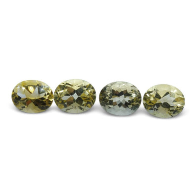 4 Stones - 9.8 ct Citrine 10x8mm Oval - Skyjems Wholesale Gemstones