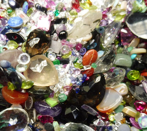 100cts Mixed Chipped, Abraided and Rejection Gems Wholesale Lot