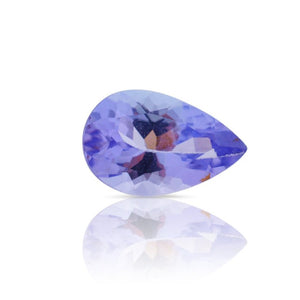 0.83 ct Pear Tanzanite IGI Certified with Inscription - Skyjems Gemstones Gems