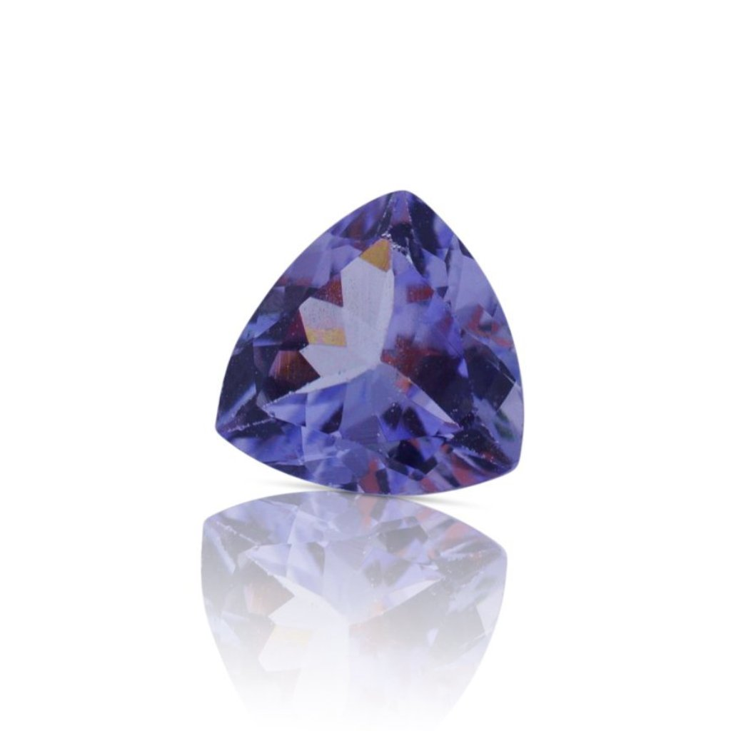 0.63 ct Triangle/Trillion IGI Certified with Inscription - Skyjems Gemstones Gems