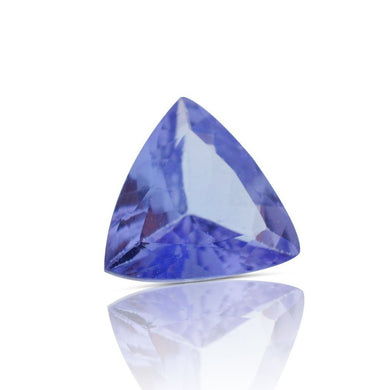 1.02 ct Triangle/Trillion IGI Certified with Inscription - Skyjems Gemstones Gems