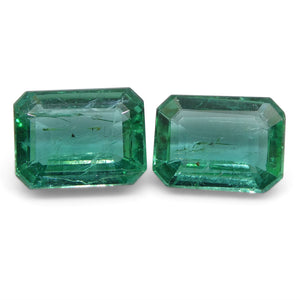 2.92ct Emerald Pair Emerald Cut - Skyjems Wholesale Gemstones