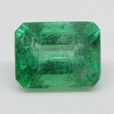 2.9ct Emerald Cut Emerald - Skyjems Wholesale Gemstones