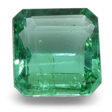 Emerald 1.17cts 6.57x6.34x3.34mm Square Green $530
