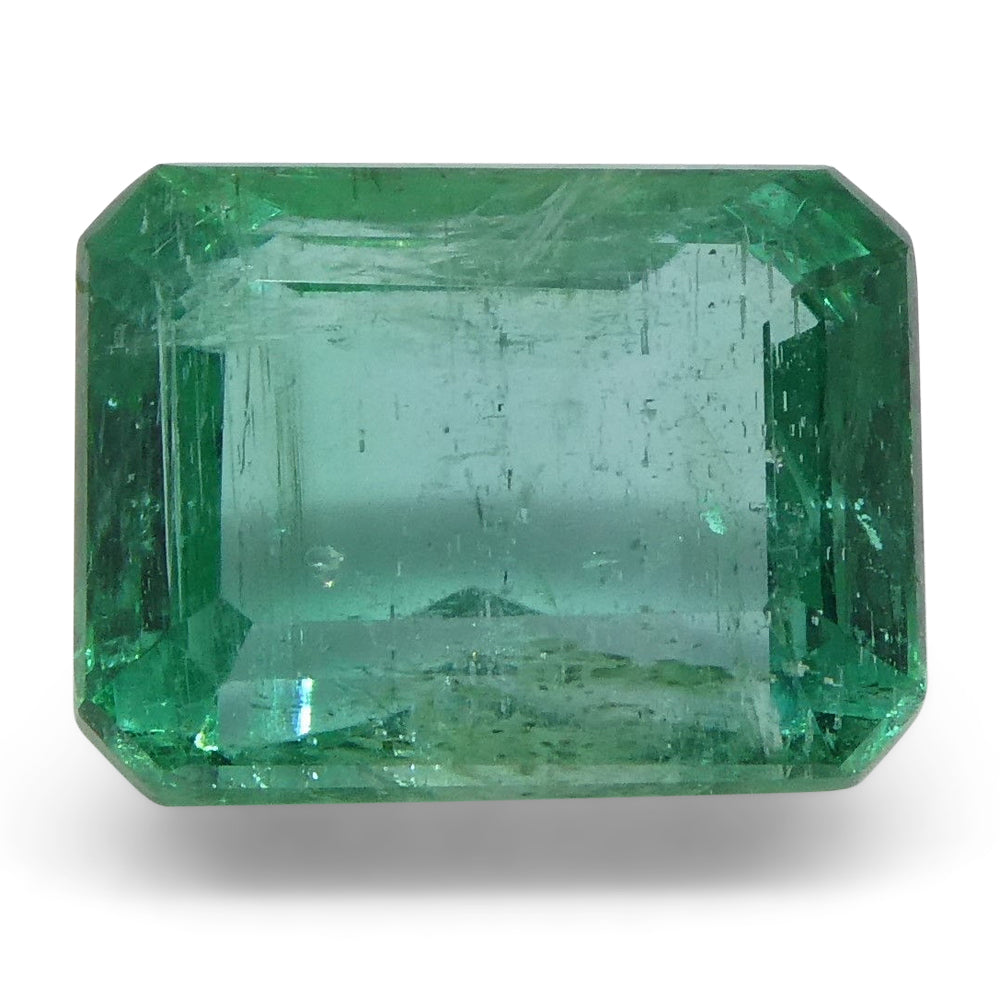 2.09ct Emerald Cut Emerald