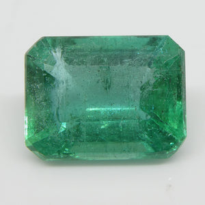 Emerald 3.85cts 11.04x8.51x5.73mm Emerald Cut Green $2890