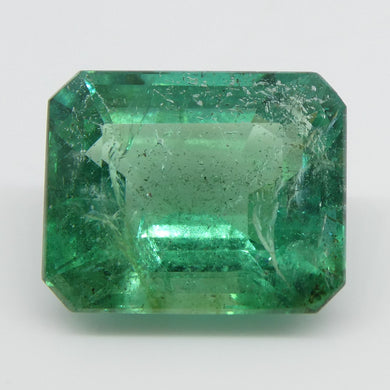 Emerald 4cts 10.78x8.82x5.89mm Emerald Cut Green $3000