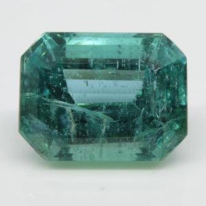6.32ct Emerald Cut Emerald - Skyjems Wholesale Gemstones