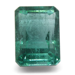3.8ct Emerald Cut Emerald - Skyjems Wholesale Gemstones