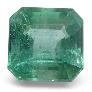 Emerald 4cts 9.08x9.07x6.66mm Square slightly bluish Green $2200