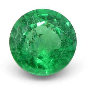 Emerald 0.81 cts 5.81x5.79x3.79mm Round Green  $1140
