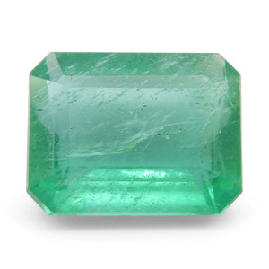 Emerald 2.07 cts 9.04x7.03x4.16mm Emerald Cut Green  $380
