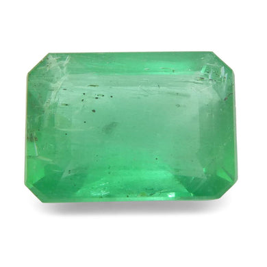 Emerald 1.3 cts 7.88x5.79x3.73mm Emerald Cut Green  $240