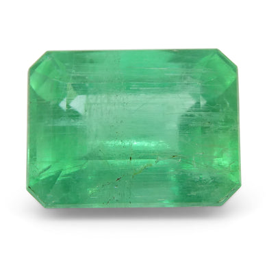 Emerald 2.2 cts 8.80x6.69x5.03mm Emerald Cut Green  $400