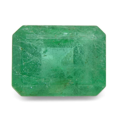 Emerald 1.32 cts 7.70x5.86x4.44mm Emerald Cut Green  $240
