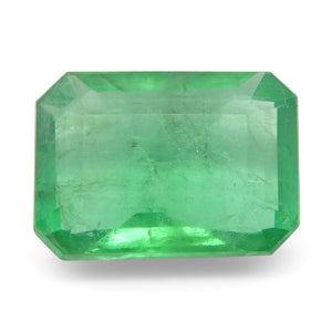Emerald 1.18 cts 8.04x5.84x3.32mm Emerald Cut Green  $220