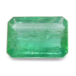 Emerald 1.62 cts 9.32x6.44x3.22mm Emerald Cut Green  $300