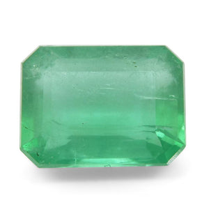 Emerald 1.73 cts 8.13x6.19x4.25mm Emerald Cut Green  $320