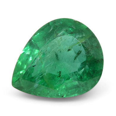 2.73 ct Pear Shape Emerald - Skyjems Wholesale Gemstones