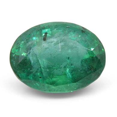 Emerald 7.86 cts 14.36x11.47x8.26mm Oval Green  $2910