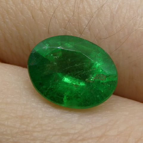 2.13 ct Oval Russian Emerald