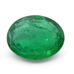 Emerald 2.02 cts 9.87x7.89x3.74mm Oval Green  $850