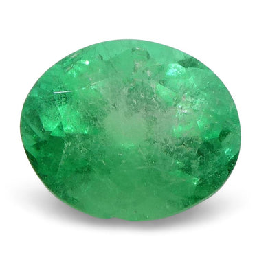 0.84 ct Oval Emerald Colombian - Skyjems Wholesale Gemstones