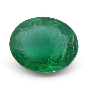 Emerald 2.6 cts 10.08x8.24x4.98mm Oval Green  $500