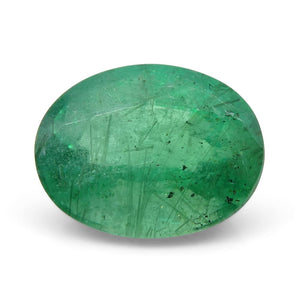 Emerald 2.02 cts 9.21x7.07x5.21mm Oval Green  $390