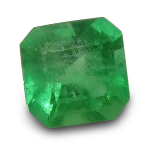 0.69 ct Square Cut Emerald - Skyjems Gemstones Gems