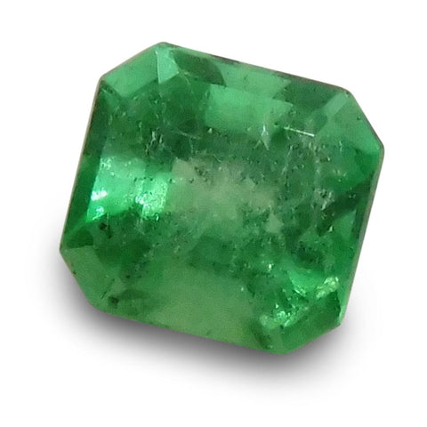 0.69 ct Emerald Cut Emerald