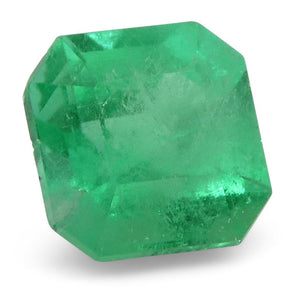 0.58 ct Square Emerald Colombian - Skyjems Wholesale Gemstones