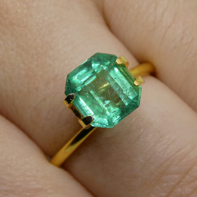 2.38ct Emerald Cut Emerald