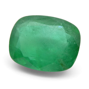 3.49ct Cushion Emerald - Skyjems Wholesale Gemstones
