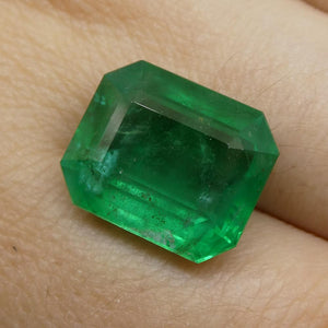 9.90ct Octagonal / Emerald Cut Emerald - Skyjems Wholesale Gemstones