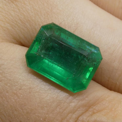 8.64ct Octagonal / Emerald Cut Emerald - Skyjems Wholesale Gemstones